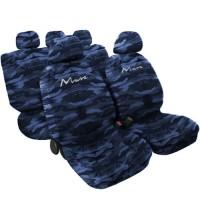 Coprisedili Lancia Musa - Mimetico Blu
