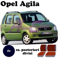 Coprisedili Opel Agila - blu