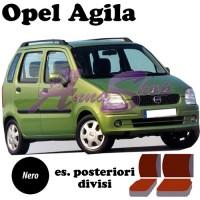 Coprisedili Opel Agila - nero