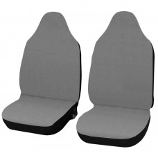 Coprisedili Smart fortwo - primo modello - cotone grigio chiaro