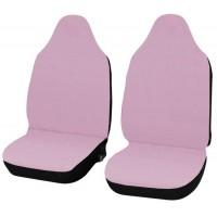 Coprisedili Smart fortwo - primo modello - cotone rosa