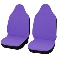 Coprisedili Smart fortwo - primo modello - cotone viola