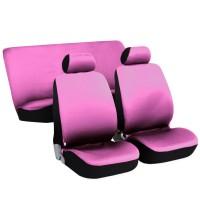 Coprisedili per auto medio - piccole rosa