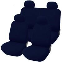 Coprisedili Fiat Panda nuova  posteriore 50/50 - blu