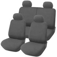Coprisedili Fiat Panda nuova posteriore 50/50 - grigio chiaro