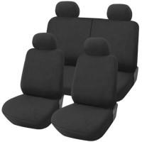 Coprisedili Fiat Panda nuova posteriore 50/50 - grigio scuro