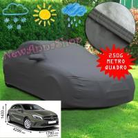 Telo copriauto felpato specifico per Mercedes Classe A dal 2012 250 grammi a metro quadrato