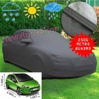 Telo copriauto felpato Specifico per Fiat Grande Punto e Punto Evo 250 grammi a metro quadrato