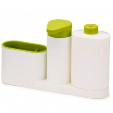 Dispenser di sapone liquido per lavello Sink tidy sey PLUS