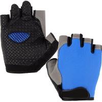 Guanti Unisex Mezzo dito Fitness Sport Gloves Ciclismo Moto Pesca Corsa 11749