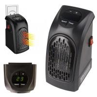 Stufa Elettrica portatile con temperatura regolabile da 15 a 32 Gradi a basso consumo 350W con presa a muro