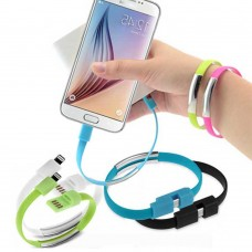 Bracciale cavo dati USB per iPhone 5/5s- 2pz