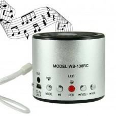 Cassa speaker portatile con registratore