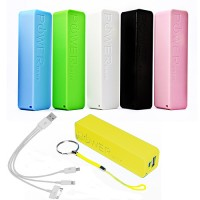 Power Bank universale batteria esterna 8800 mAh con cavo per samsung iphone htc nokia tablet