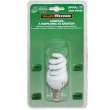 Lampadina a risparmio energetico E14 - luce calda - 7W