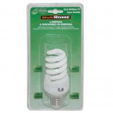 Lampadina a risparmio energetico E27 - luce fredda - 15W