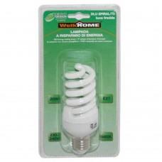 Lampadina a risparmio energetico E27 - luce fredda - 20W