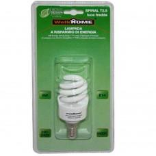 Lampadina a risparmio energetico E14 - luce fredda - 8W