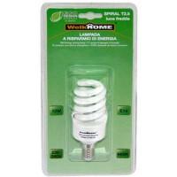 Lampadina a risparmio energetico E14 - luce fredda - 12W