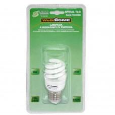 Lampadina a risparmio energetico E27 - luce fredda - 8W