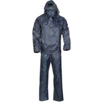 Completo impermeabile giacca pantalone taglia M tuta moto