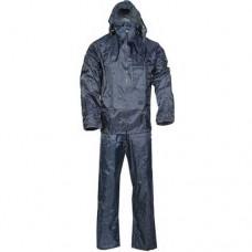 Completo impermeabile giacca pantalone taglia L tuta moto