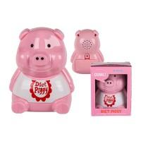 Porcellino Piggy Diet da frigorifero per incoraggiare la Dieta con sensore luce e suoni
