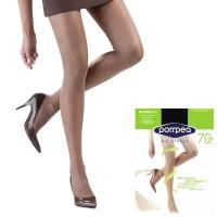 Collant contenitivo Pompea no stress riposante 70 Den elasticizzato, opaco, per tutti i giorni