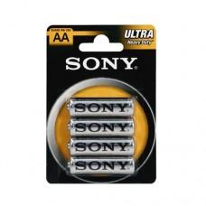 Batterie stilo tipo AA - 12 blister 48 pile Sony