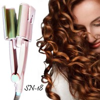Piastra arricciacapelli professionale per capelli ondulati Sonar SN-18