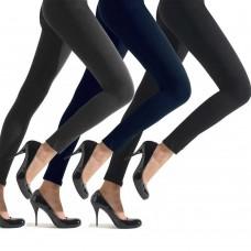 Leggings felpati donna - pack 3 pz