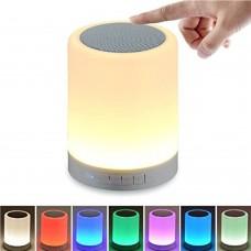 Lampada Speaker Bluetooth cambia colore con un Tocco