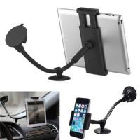 Supporto a ventosa per auto Smartphone e Tablet  mod. LP-3B