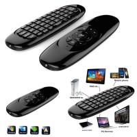 Telecomando air mouse wireless 2,4 ghz mini tastiera movimento android box pc C-120