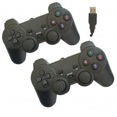 Joypad per pc 2.0 coppia joystick controller double shock