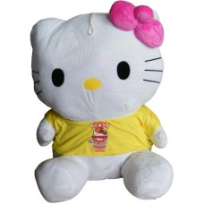 Peluche Hello Kitty - Giallo 55cm