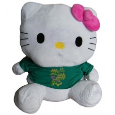 Peluche Hello Kitty - Verde 55cm