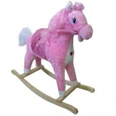 Cavallo a dondolo Rosa