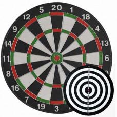 Bersaglio gioco delle freccette e target bullseye
