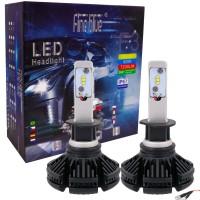 KIT LAMPADE LED AUTO MOTO FARI COPPIA H1 LAMPADINE 60W LUCE BIANCA F3