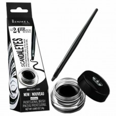 Eyeliner Rimmel London ScandalEyes gel Nero 3206