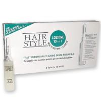Lozione trattamento Multi-azione 10 in 1 capelli Hair Style 0791