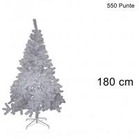 ALBERO DI NATALE COLORAZIONE BIANCO DI 180CM CON 550 PUNTE COD. 7587
