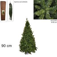 Albero di Natale Super Folto Pino Imperatore Salvaspazio 90 cm 6450