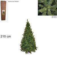 Albero di Natale Super Folto Pino Imperatore Salvaspazio 210cm 750 punte 6504