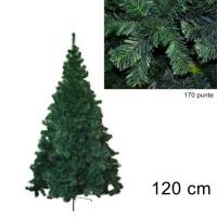 Albero di Natale folto Pino della Norvegia 120cm 9133