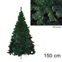 Albero di Natale folto Pino della Norvegia 150cm 9140