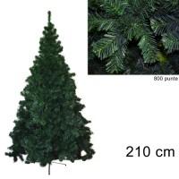 Albero di Natale folto Pino della Norvegia 210cm 9164