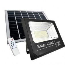 Faro led con pannello solare  energia rinnovabile 200W