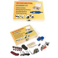 Kit accessori per mini trapano smerigliatrice 100 pezzi